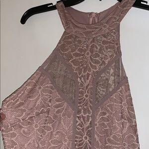 Light pink float dress